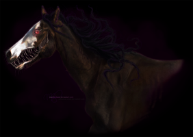 the smile is red and its eyes are black by madilynbeau