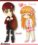 Prize: Death and Dazzle by Enthriex