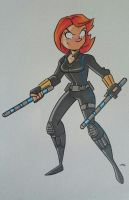 Black Widow by tyrannus