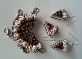 Polymer Clay: Hershey Pie by iChame