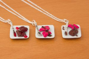 Chocolate Bar Necklace by Fireya-chan