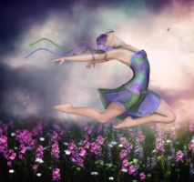 The Sweet Release of Spring by RavenMoonDesigns