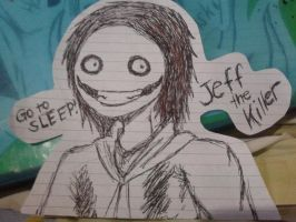 Doodle 1: Jeff the Killer by XxMarshie-ChanxX