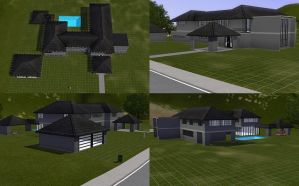 Sim house 28 WIP by A-han-343