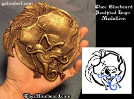 Thee Bluebeard Logo Medallion Sculpt by Galindorf