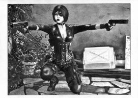 Domino X-Force by TimGrayson