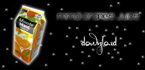 MMD DOWNLOAD Orange Juice by salutcoucou