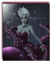 Ursula Little Mermaid by Remembrance7