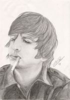 Ringo with Ciggie by silverwolf71190