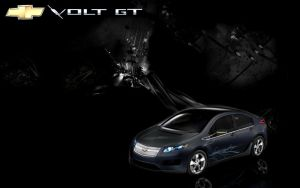 Chevy Volt GT Wallpaper by MyMomSaysImCool