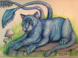 Displacer Beast by butchRbill