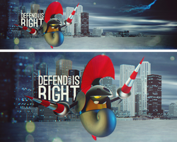Defend What is right by eslib