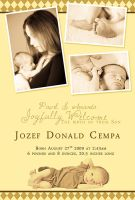 Birth Announcement by nevermoregraphix