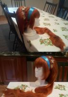 Thumbelina Cosplay Wig by lunaladyoflight