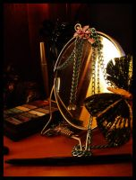 Old Fashion Mirror by SunFlowerButterfly