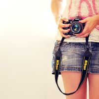 Camera girl by Justysiak
