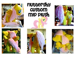 MLP Chibi_fluttershy_plush by anotherclichejrocker