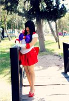 Sailor Mars by MeiAliceLiddell