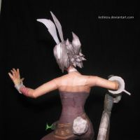 League of Legends - Battle Bunny Riven papercraft by kotlesiu
