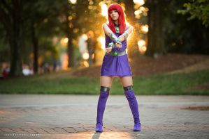 Starfire [ Teen Titans ] by BloodxButterfly