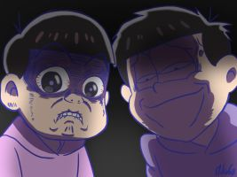 Totty and Ichi are very scary by MikaGx