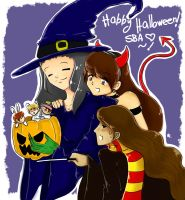 HAPPY LATE HALLOWEEN 8D by GabbaAlche