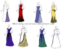 prom dress designs by contra-rawr