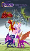 The Legend of Spyro AOH I by Spartan-029
