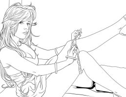 panty and panties 2 Drawing by frostdusk