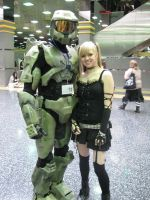 Master Chief meets Misa by AceLK