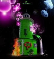 Magical Lighthouse by xiondzz