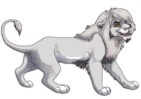 Sayda-lion Commission by apex99