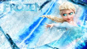 Frozen Wallpaper ~ Elsa by Mackaged