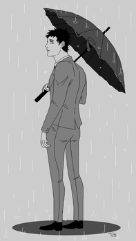 Umbrella by Animesketch12