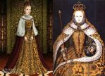 Queen Elizabeth I's coronation portrait by LadyAquanine73551