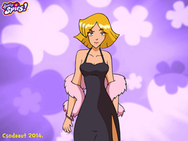 Totally Spies - Clover as Superstar no.1 by Csodaaut