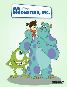 Monsters Inc. by momarkey