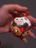Adventure Time Xmas Ornament by LadyNin-Chan