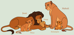 Lion Family Adoptables 6 *CLOSED* by acornheart465