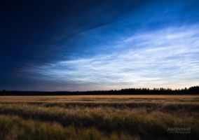 Noctilucent Clouds II by JoniNiemela