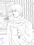 Hot Chocolate on A Snowy Day by NayKiler