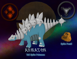 Fakemon - Armaton by BluTaiger