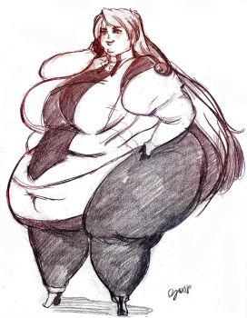 XenoGears SSBBW 5$ sketch by TheAmericanDream