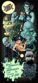 The Pirates by Frank-Cadillac