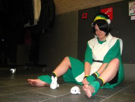 Tsunacon 2012 Cosplay Toph 008 by ChristianPrime1-Bot