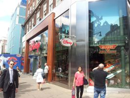 Disney Store on Oxford Street 2014 by ChristianPrime1-Bot