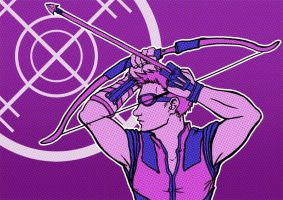 Hawkeye by puppyShaker
