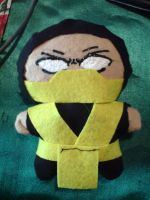 Scorpion Plushie by Lady-Janie