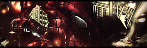 Spider man Signature by Uberkayt