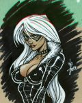 Black Cat Sketch by broken-nib